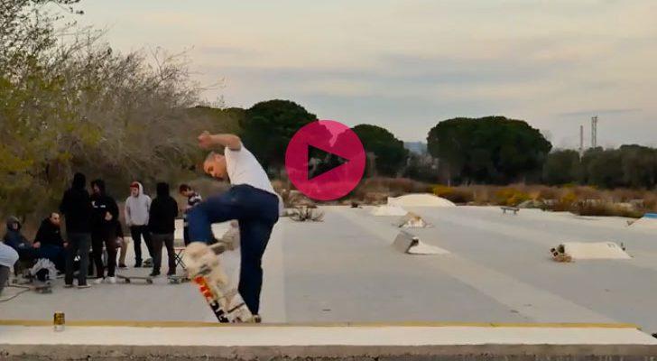 Skate, farra y butifarra desde un DIY de Cataluña