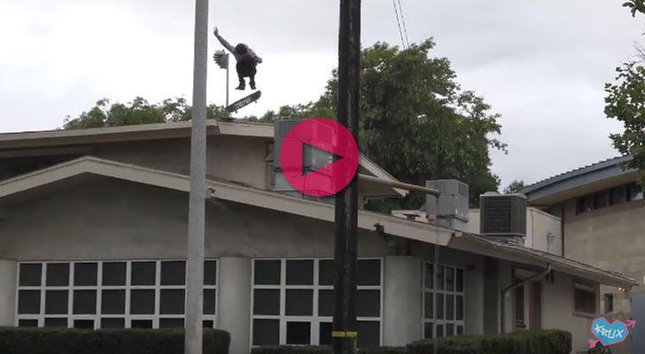 Un clip de Krux con las locuras de Jeff Dechesare