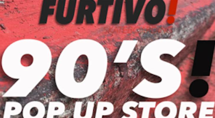 El Pop Up Store noventero de Furtivo en Barcelona