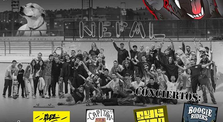 Nepalsk8 Jam 2017 en Alcobendas (Madrid)