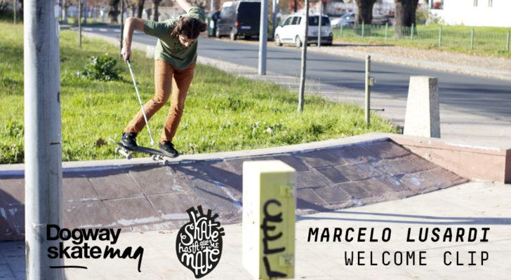 Marcelo Lusardi x Skate Hasta Que Me Mate. Clip y entrevista
