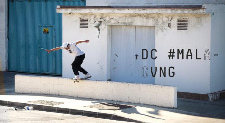 Clip oficial del #Malagvng Tour de DC Shoes Spain