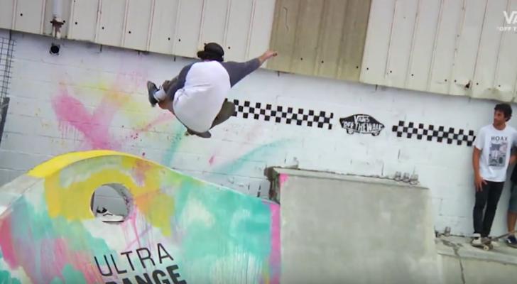 Clip de la Vans GureTxoko Backyard Skate Jam