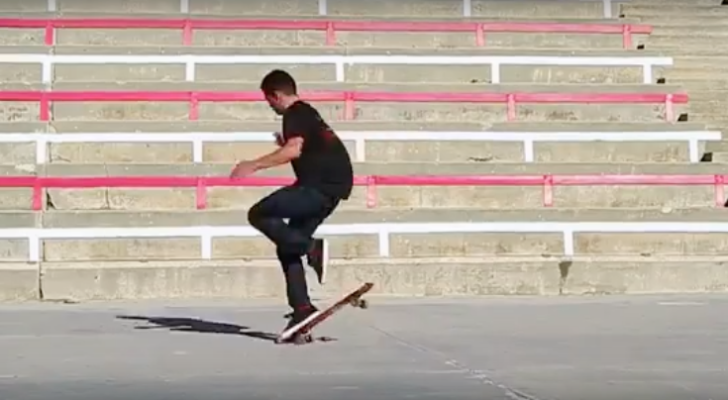 Vídeo de Kilian Martín para Ultimate Skateboarder