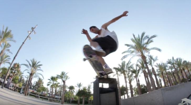 Skate a los 40 en el clip de Ismael Carreras