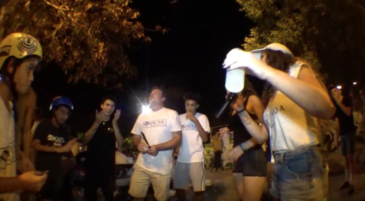 Clip de la Skate Night Party de Picnic en Alicante