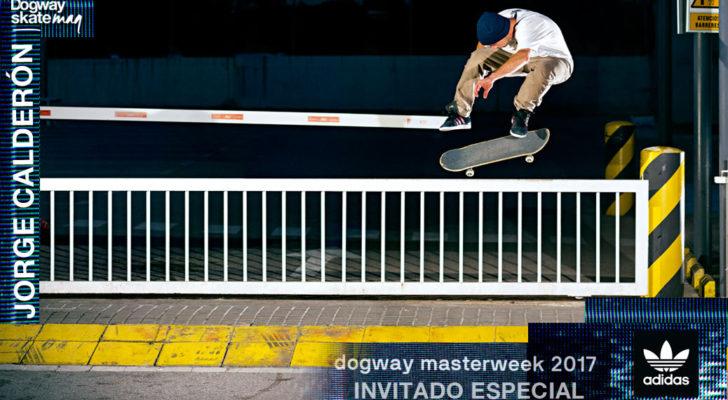 Invitado Dogway Masterweek 2017. Jorge Calderón