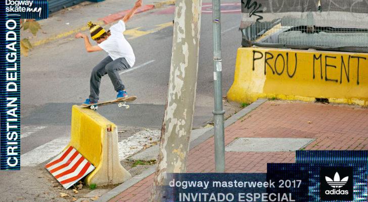 Invitado Dogway Masterweek 2017. Cristian Delgado