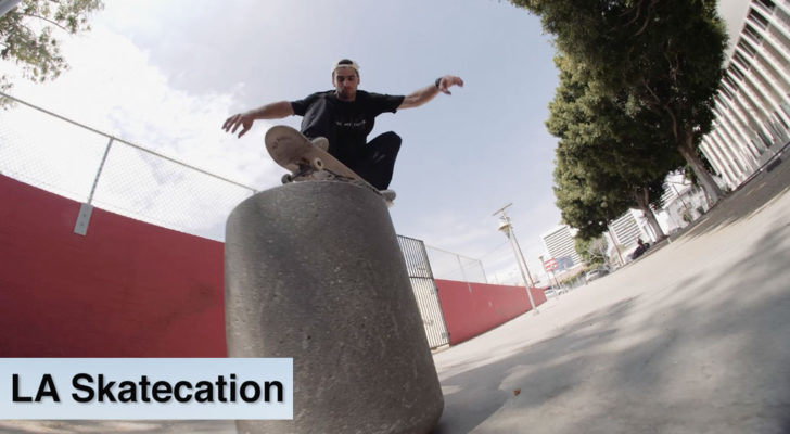 Jorge Calderón y el team Dwindle en LA Skatecation