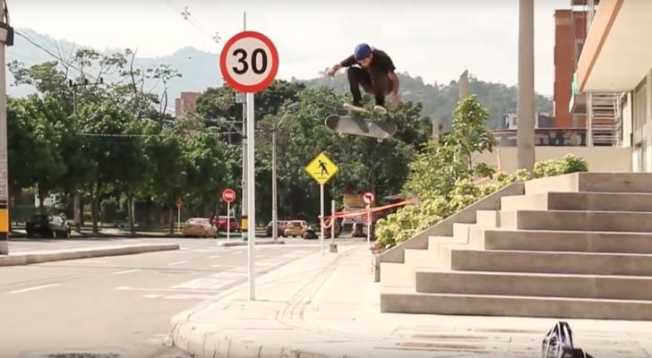 Parte completa de Mateo Vahos desde Colombia