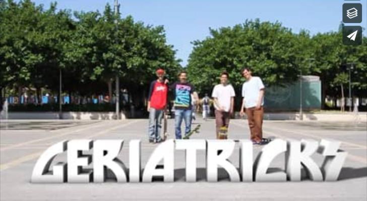 Geriatricks, un vídeo completo de mayores de 30
