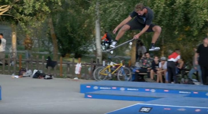 Clip con lo mejor del Torneo Skateboard Zamora 2017