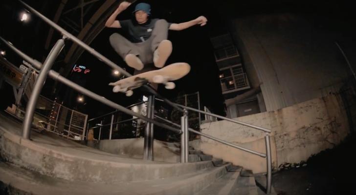 The Splits, una delicia de clip de adidas Skateboarding Japan