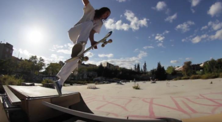 Las skaters toman el DIY de Mataró. Nuevo clip Asiplanchaba