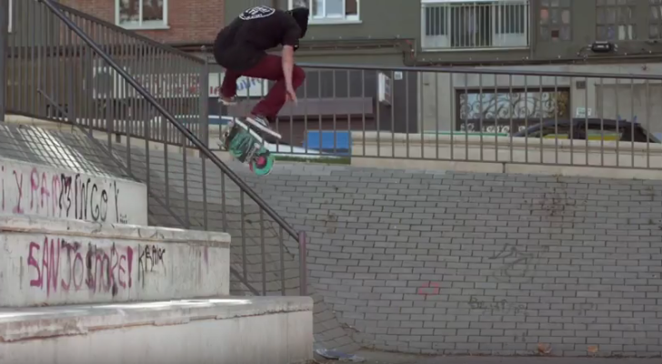 #Skatelife. Quique Acosta saca footy del disco duro