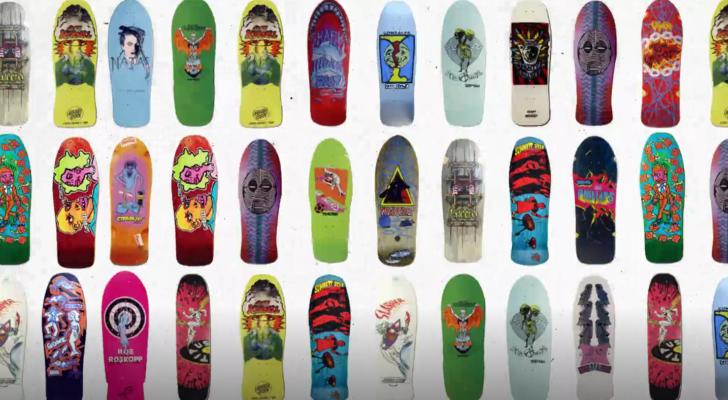 Un clip nos cuenta la evolución de las tablas de skate