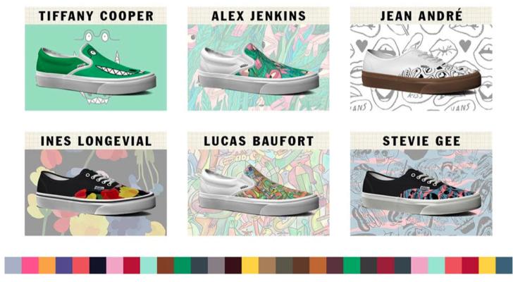 Ahora puedes personalizar tus zapatillas Vans Classics