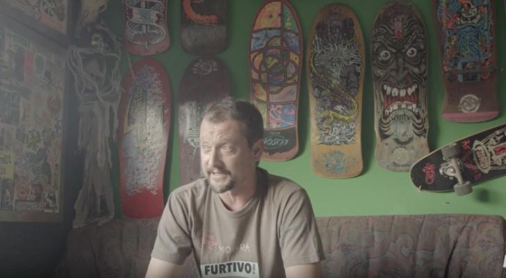 Arturo «Homs» muestra su colección de tablas para Furtivo