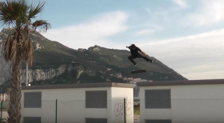 Parte de Richie Dunkul en el Tutankamon Skate Video