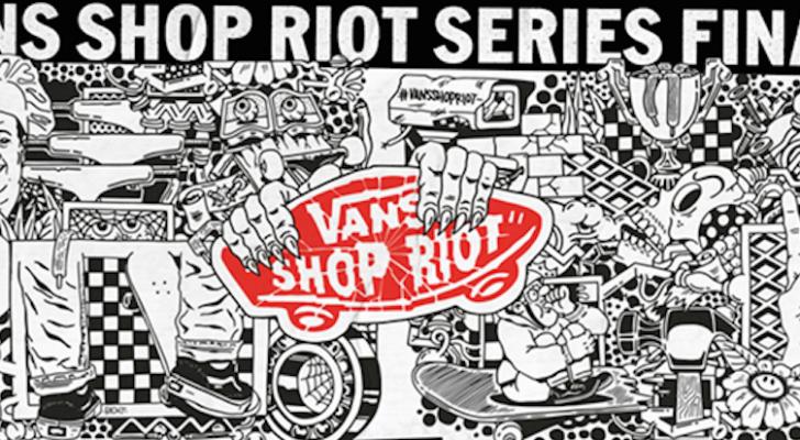 Toda la info de la gran final del Vans Shop Riot 2017