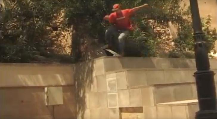 El vídeo de Fellaz nos enseña el skateboarding de Tarragona
