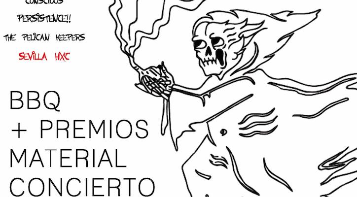 Skate Jam en la inauguración del Santo Antro de Sevilla