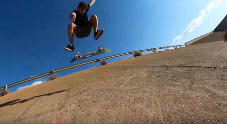 Street skateboarding murciano en el Soho Video Vol. 2
