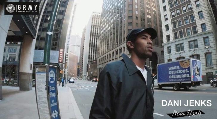 Dani Jenks patinando Nueva York en un clip de Grimey