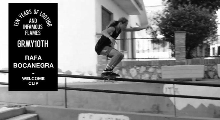 Rafa Bocanegra en el vídeo del 10º aniversario Grimey