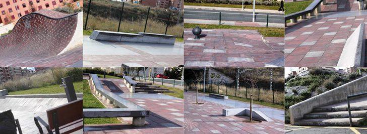 Vista a Logroño Skateplaza