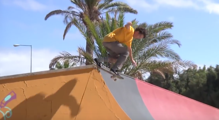 Footy crudo del paso de Daan Van Der Linden por Canarias