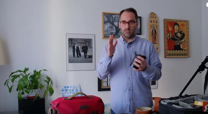 El fotógrafo Alberto Polo nos enseña y explica su equipo