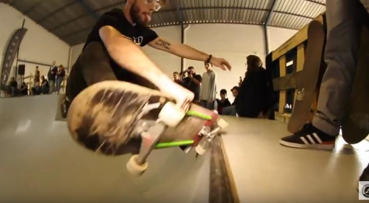 Vídeo de la inauguración del Club Skate Santo Antro de Sevilla