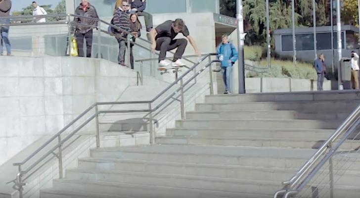 Episodio 2 de «Threee», el proyecto de Solo y Adidas Skateboarding