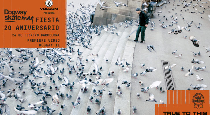 Fiesta Dogway 20 aniversario en Barcelona y premier de Scene