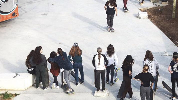Girls Jam en Barcelona x Asiplanchaba, Agora y Nike SB