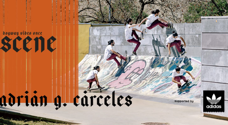 Adidas te ofrece la parte de Adrián G. Cárceles en Scene