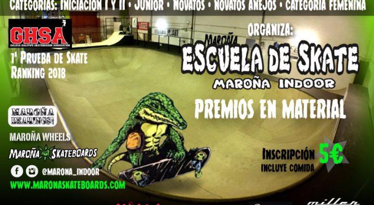 Campeonato Maroña Indoor 28 Abril