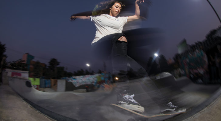Todo sobre la Vans Girls Skate Night de Barcelona