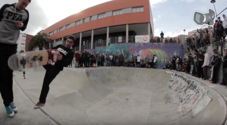 Clip del Torneo Skateboard El Bollo Avilés 2018
