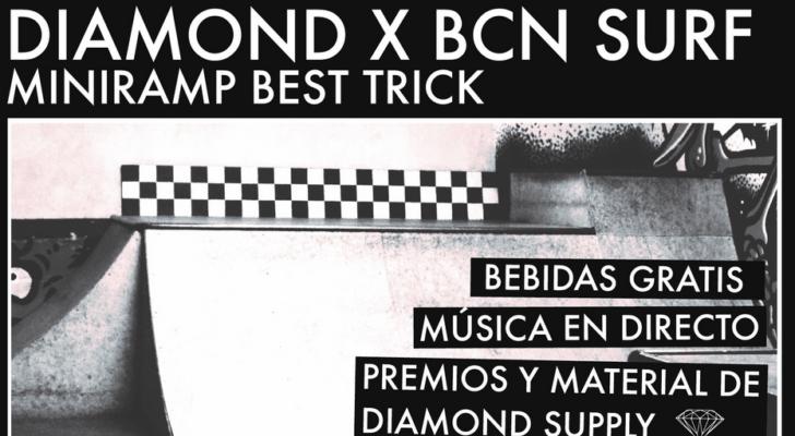 Todo sobre el best trick en miniramp de Diamond en Barcelona
