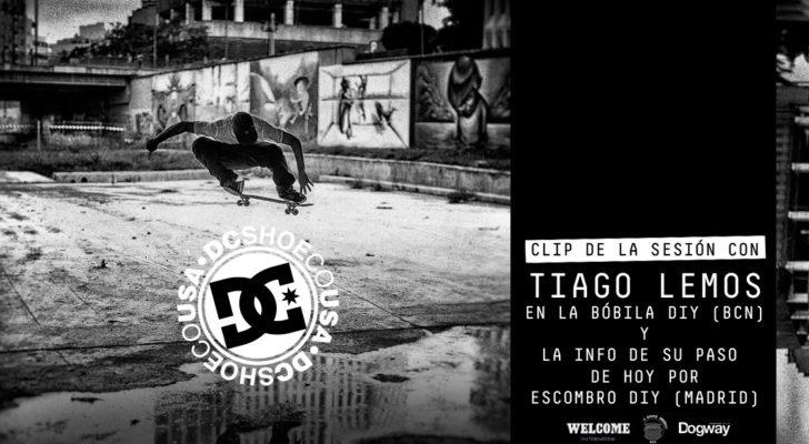 Clip con Tiago Lemos en La Bóbila DIY (Barcelona)