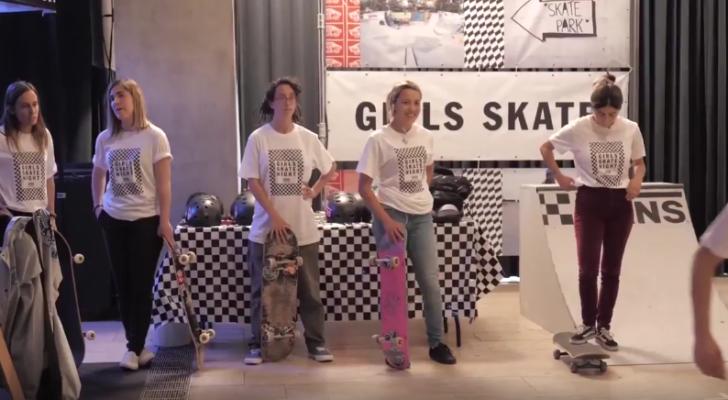 Vídeo de la Vans Girls Skate Night en Barcelona