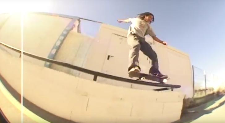 Clip homenaje al fallecido skater Anas Moulal