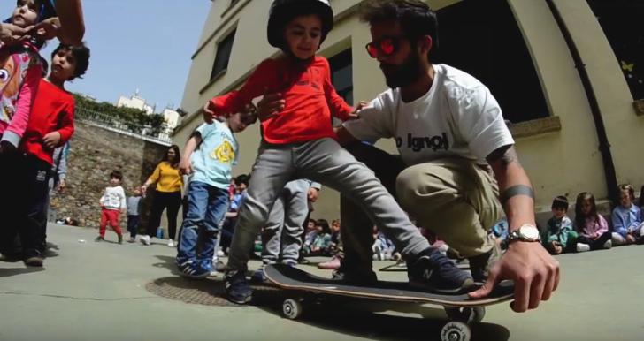 Clases de skate gratuitas en Cáceres