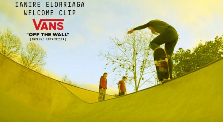 Vans da la bienvenida a la skater Ianire Elorriaga