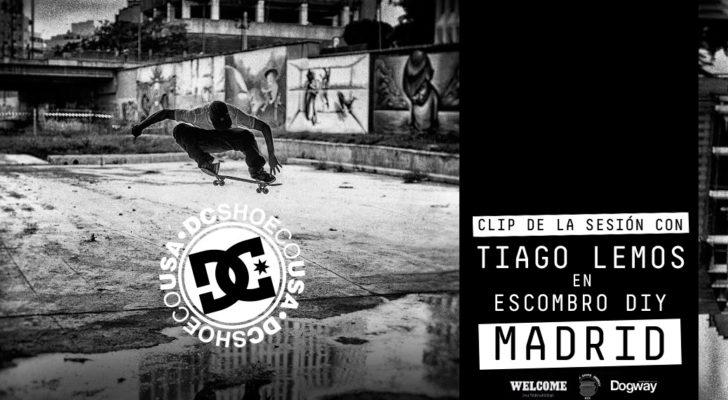 Clip del paso de Tiago Lemos y DC Shoes por Escombro DIY