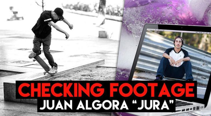 Hoy podrás ver en directo el «Checking Footage» de Juan Algora