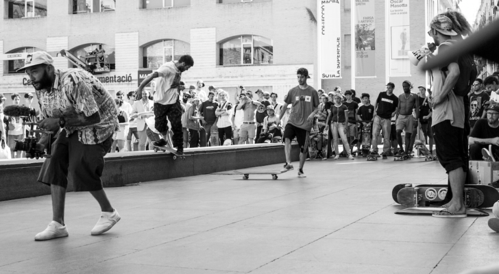 Vídeo del Go Skateboarding Day x Vans en Barcelona
