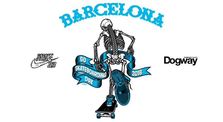 Puedes celebrar el Go Skateboarding Day en Barcelona con Nike SB